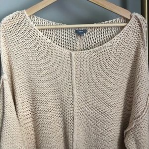 Asymmetrical Knit Sweater